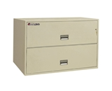 Sentry 2L4310 2 Drawer - Fire and Impact Resistant