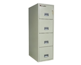 Sentry 4T2500 4 Drawer Letter - Fire Resistant