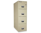 Sentry 4T3131 4 Drawer 31- Deep Fire And Water Resistant Vertical Letter File