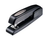 Swingline 747 Business Manual Desktop Stapler, Antimicrobial, 20 Sheet Capacity, Black, Retail Packaging (S7074732)