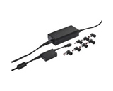 targus apa32us 90w ac laptop charger w/in-line usb adapter black