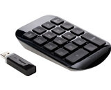 Targus Wireless Numeric Keypad, Black with Gray (AKP11US) [CD-ROM]