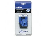 Brother TC64Z1 3/8 Inch White on Blue P-Touch Tape