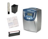 Timex T100 Time clocking bundle, Includes System, Cards, Ribbons and Rack