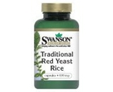 Traditional Red Yeast Rice 60 Caps by Swanson Premium