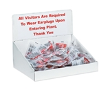Tray Counter Display Header Cards (10 Each Per Bundle)