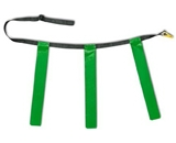 Triple Flag Football Set Green 12PK