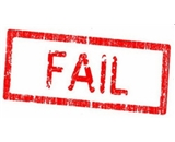 Trodat FAIL! Self Inking Rubber Stamp