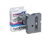 Brother TX1511 Black on Clear P-Touch Tape