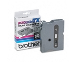 Brother TX2311 Black on White P-Touch Tape