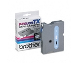 Brother TX2331 Blue on White P-Touch Tape