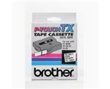 Brother TX3451 White on Black P-Touch Tape