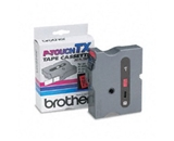 Brother TX4511 Black on Red P-Touch Tape