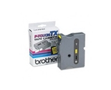 Brother TX6511 Black on Yellow P-Touch Tape