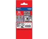 Brother TZS151 1 In. Black on Clear Extra Strength P-touch Tape, TZe-S151