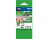 Brother TZSE4 3/4 In. Black On White Security P-touch Tape, TZ-SE4