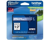 Brother TZe135 Laminated Tape, 1/2 Inch