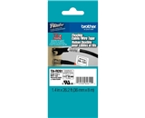 Brother TZeFX261 Laminated Flexible ID Black on White 1.5 Inch Tape
