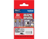 Brother TZeS941 Laminated Extra-Strength Black on Matte Silver 3/4 Tape
