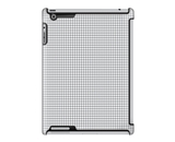 Uncommon LLC Houndstooth Cement Deflector Hard Case for iPad 2/3/4 (C0010-GX)