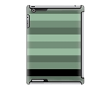 Uncommon LLC Deflector Hard Case for iPad 2/3/4, Monochrome Stripe Olive Black Bottom (C0010-NG)