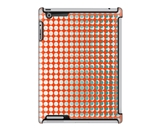 Uncommon LLC Deflector Hard Case for iPad 2/3/4, Dots Grid Orange (C0010-LU)