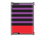 Uncommon LLC Chic Stripe Black Deflector Hard Case for iPad 2/3/4 (C0010-ID)