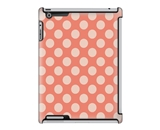 Uncommon LLC Polka Dots Salmon Deflector Hard Case for iPad 2/3/4 (C0060-IY)