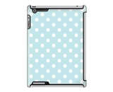 Uncommon LLC Deflector Hard Case for iPad 2/3/4 - Mood Dots Ice Blue (C0060-DO)