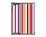 Uncommon LLC Deflector Hard Case for iPad 2/3/4 - Homestripes Red (C0010-ZS)