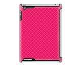 Uncommon LLC Deflector Hard Case for iPad 2/3/4, Dot Lace Pink (C0060-VO)