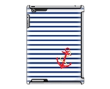 Uncommon LLC Deflector Hard Case for iPad 2/3/4, Anchor Stripe (C0070-NI)