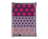 Uncommon LLC Polka Dot Ribbon Deflector Hard Case for iPad 2/3/4 (C0060-RS)