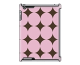 Uncommon LLC Large Pink Dots Deflector Hard Case for iPad 2/3/4 (C0060-QS)