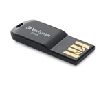 Verbatim 8GB Micro USB Flash Drive - Black,Minimum Qty. 12 - 44049