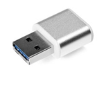 Verbatim 16GB Mini Metal USB 3.0 Flash Drive - Brushed Silver, Minimum Qty. 10 -49839