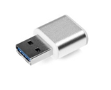 Verbatim 32GB Mini Metal USB 3.0 Flash Drive - Brushed Silver,Minimum Qty. 10 - 49840