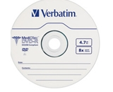 MediDisc DVD-R 4.7GB 8X Thermal Printable Branded Surface - 1pk Jewel Case,Minimum Qty. 10 - 94905
