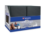 Verbatim CD/DVD Black Video Trimcases - 50pk,Minimum Qty. 2 - 95094