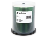 Verbatim CD-R 700MB 52X White Thermal Printable - 100pk Spindle,Minimum Qty. 4 - 95253