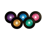 Verbatim Digital Vinyl CD-R 80MIN 700MB 10pk Blister,Minimum Qty. 6 - 96858