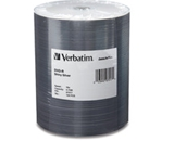 Verbatim DVD-R 4.7GB 16X DataLifePlus Shiny Silver Silk Screen Printable - 100pk Tape Wrap,Minimum Qty. 6 - 97017