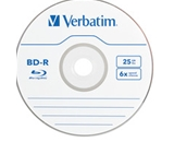Verbatim BD-R 25GB 6X with Branded Surface - 10pk Spindle Box,Minimum Qty. 4 - 97238