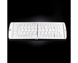 Verbatim Bluetooth Wireless Folding Mobile Keyboard - White,Minimum Qty. 6 - 97872
