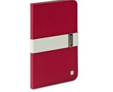 Verbatim Folio Signature Case for iPad mini (1,2,3) - Red/Grey,Minimum Qty. 6 - 98419