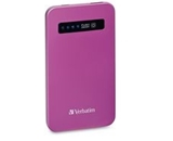Verbatim Ultra-Slim Power Pack, 4200mAh - Pink,Minimum Qty. 6 - 98452