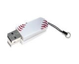 Verbatim 8GB Mini USB Flash Drive, Sports Edition - Baseball,Minimum Qty. 10 - 98508