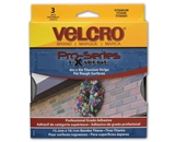 Velcro Extreme Hook and Loop Fasteners, Titanium (91471)