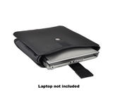 Victorinox CS2 37411 Molded Cross Suspension Vertical Notebook Sleeve - Fits up to 15- (Black)