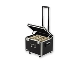 Vaultz Locking VZ01270 Mobile Wheelie Chest Letter-Legal - Black